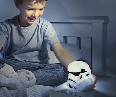 Stormtrooper Night Light And Torch bedroom