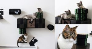 'Super Mario World' Cat Furniture