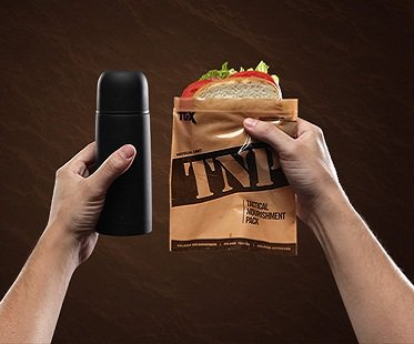 Tactical Lunch Box Kit flask