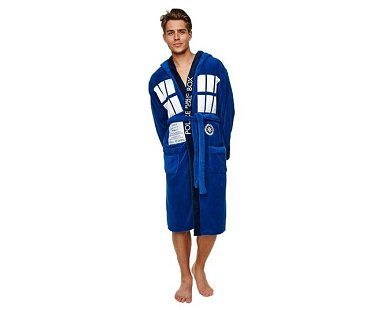 Tardis Fleece Robe