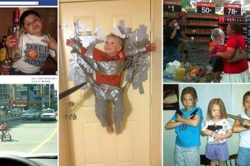 Terrifying Parenting Fails