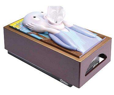 The Scream Tissue Box Cover