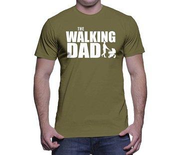The Walking Dad T-Shirt green