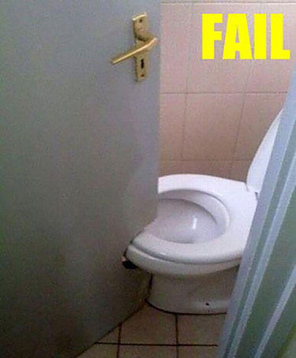 20 shocking design fails that will leave you amused and for Bathroom design fails