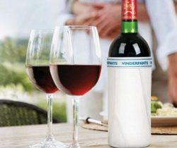 Underpants Wine Bottle Cover