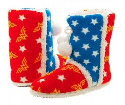 Wonder Woman Boot Slippers