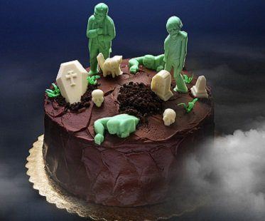 Zombie Chocolate Mold Tray