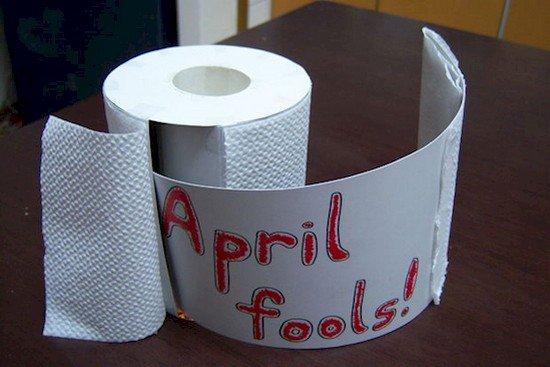 april fools toilet roll