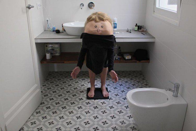 back boy bathroom
