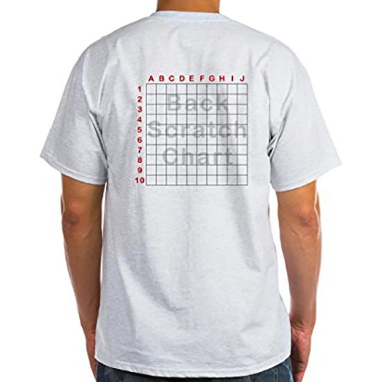 back scratch chart tshirt