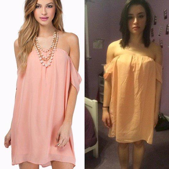 baggy dress fail