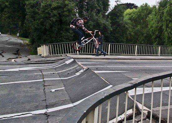 bike jump road