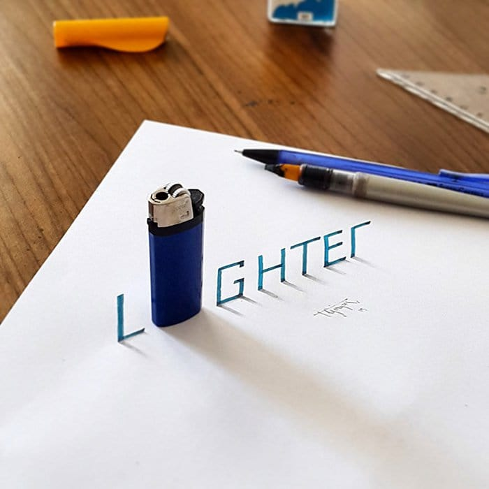 calligraphy-lighter