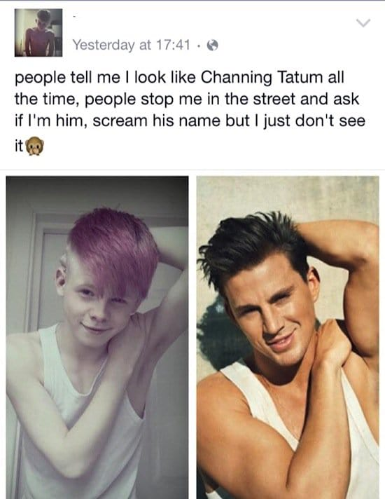 11 people who think they look like celebrities