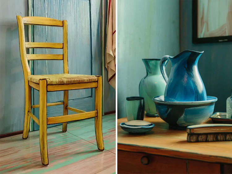 chair jugs van gogh