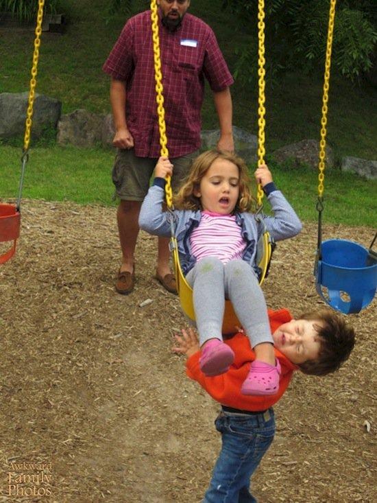 children-swing