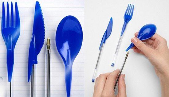cutlery pens