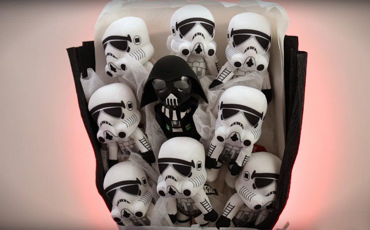 darth stormtroopers bouquet