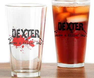 dexter pint glass