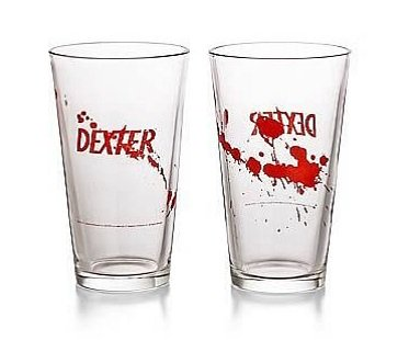 dexter pint glass killer day