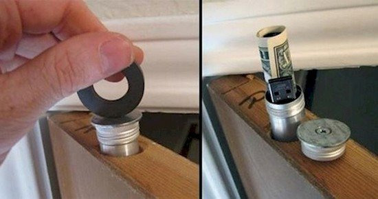 12 ingenious hiding places to keep your valuables safe - Nascondigli segreti in casa ...