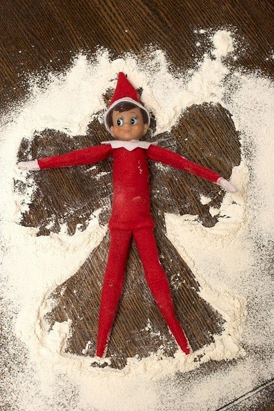 elf flour angel