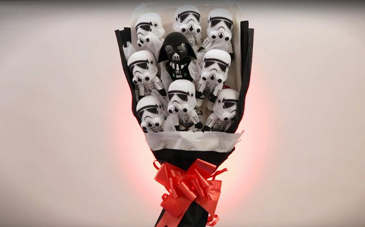 evil star wars bouquet