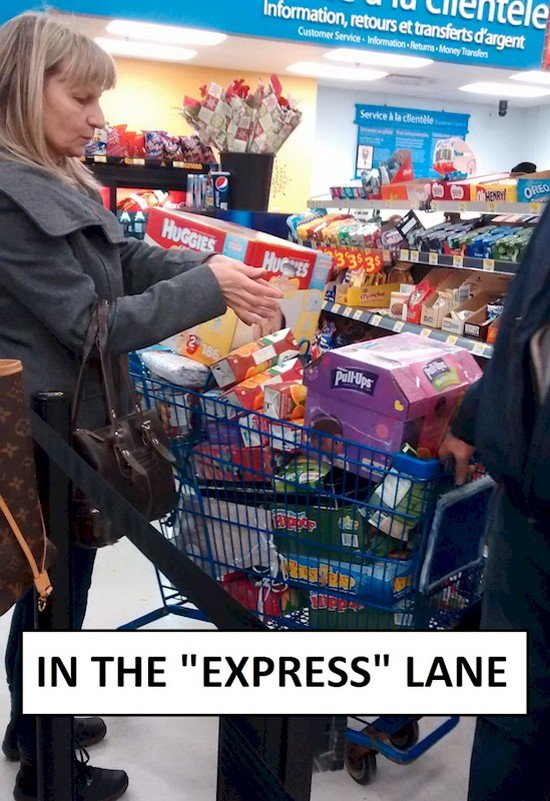 express lane fail