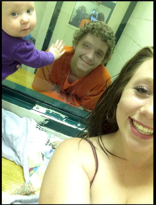 family prison photo
