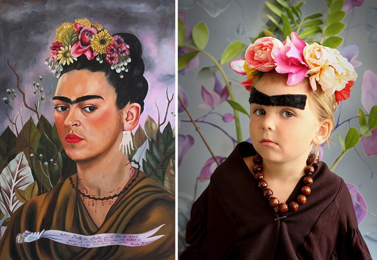 12 famous paintings recreated with real people