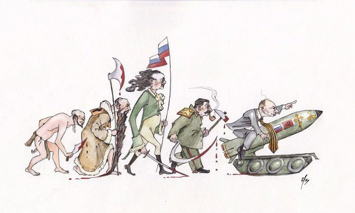 funny-satirical-evolution-charles-darwin-day-war