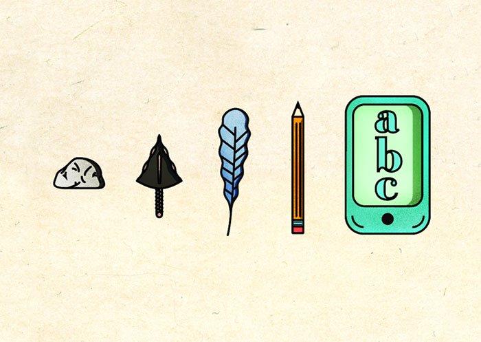 funny-satirical-evolution-charles-darwin-day-writing