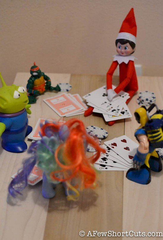 gambling elf toys