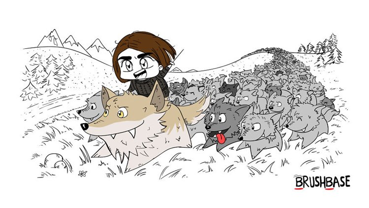 game-of-thrones-character-reunions-or-encounters-arya-nymeria