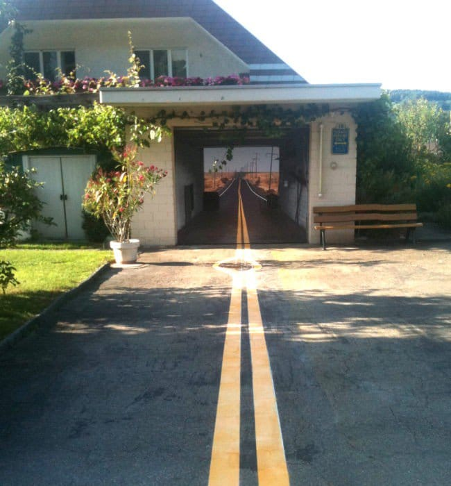 garage road