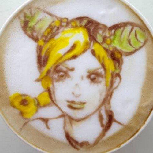 girl latte