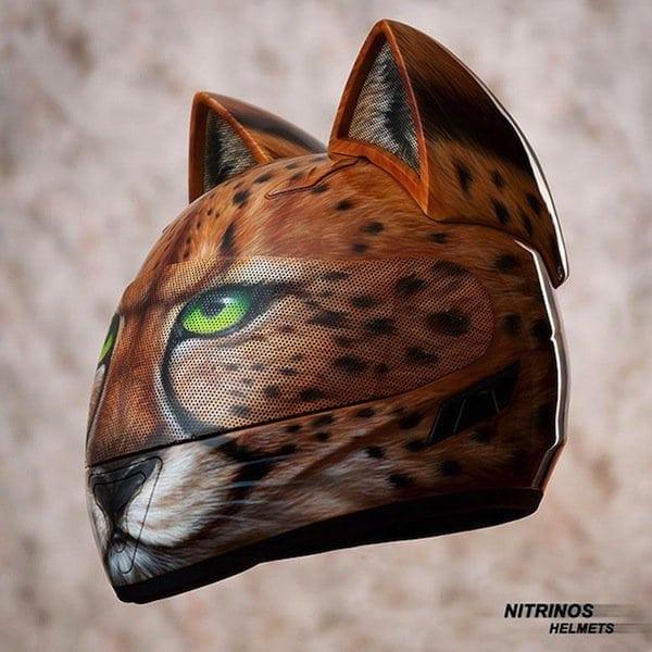 helmet-cat-leapord