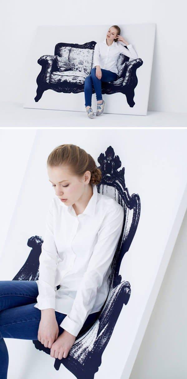 illusion canvas seating