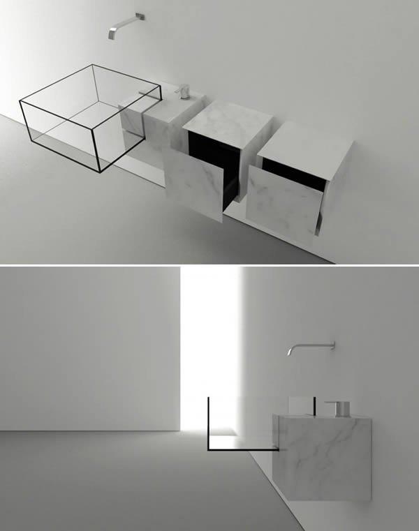 illusion sink