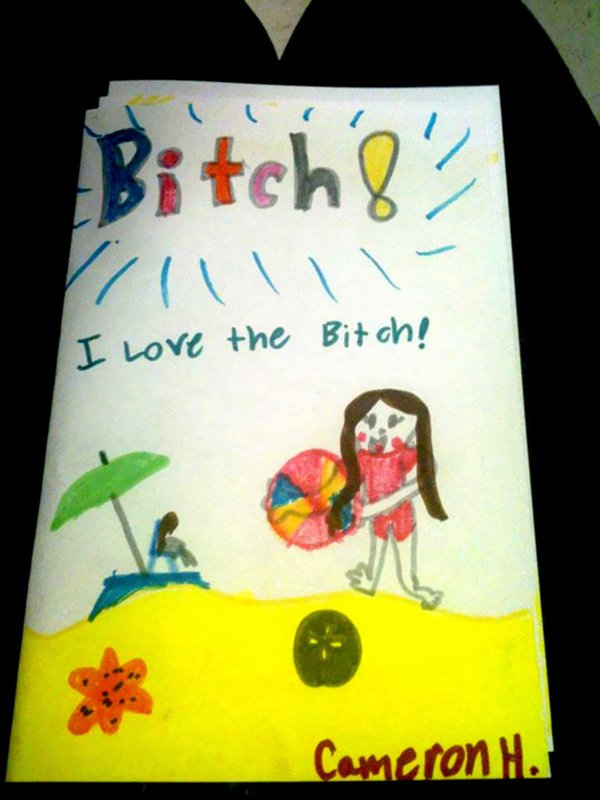 inappropriate-kids-drawings-bitch