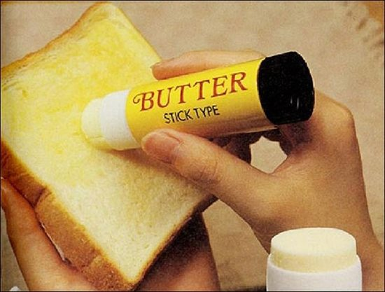 invention butter stick