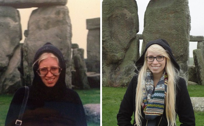 kid-parent-look-alikes-stone-henge