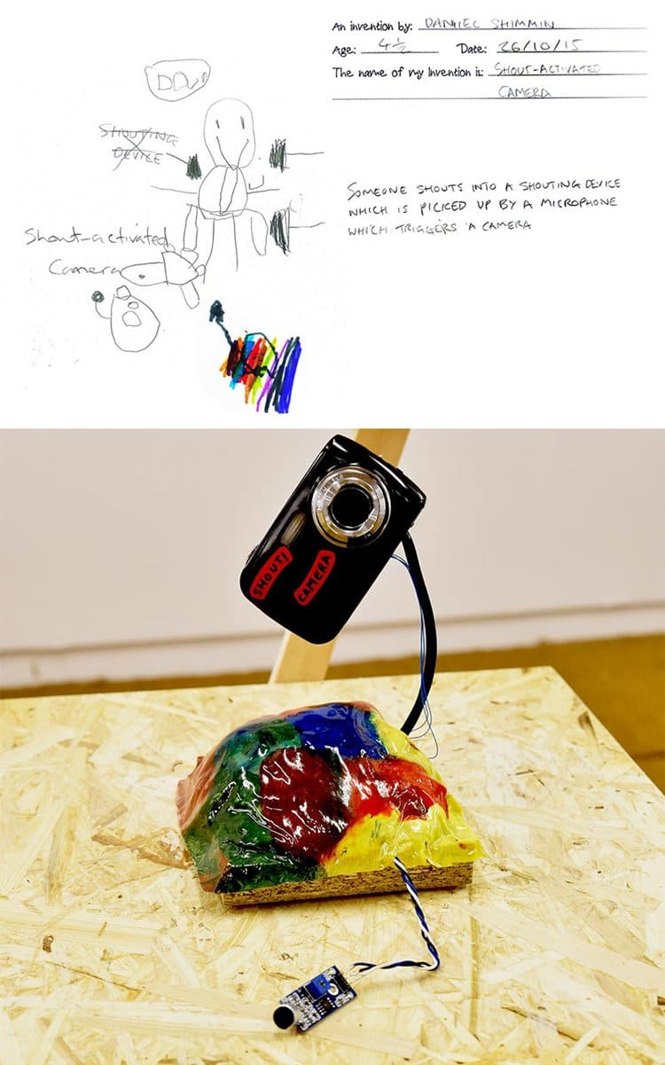 15 crazy inventions by kids turned into real product