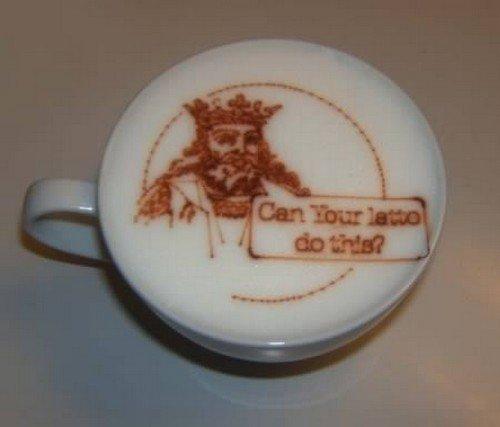 king latte
