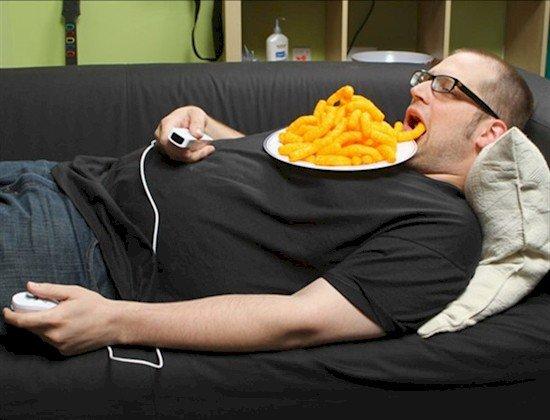 lazy eating