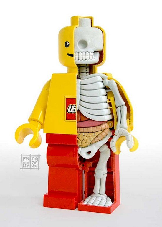 lego guy skeleton