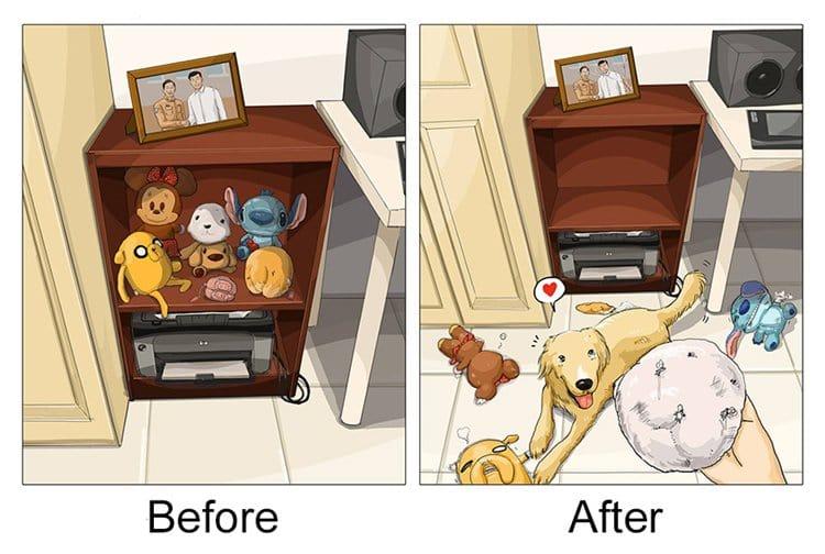 life-before-dog-vs-life-after-dog-destroy
