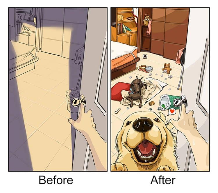 life-before-dog-vs-life-after-dog-greet