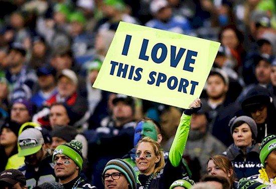 love sport woman