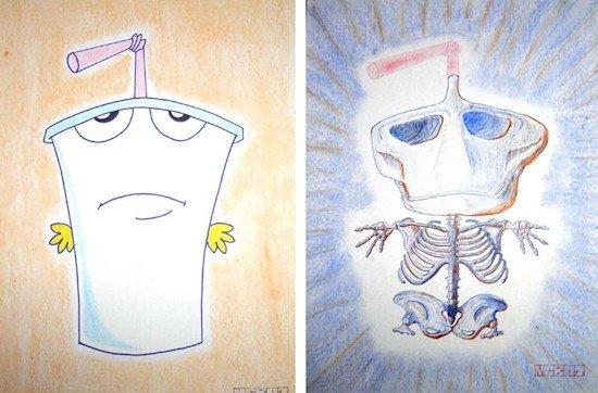 master shake skeleton